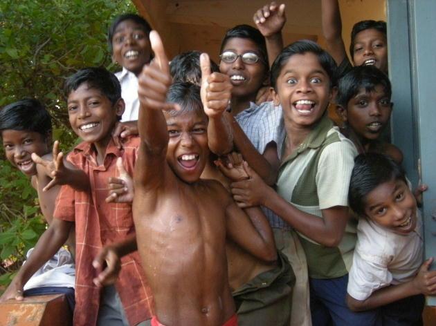 インドの少年たち