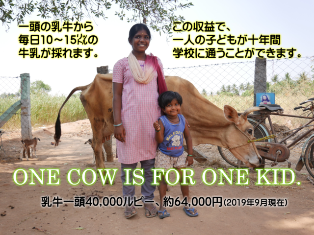 one cow for one kid
