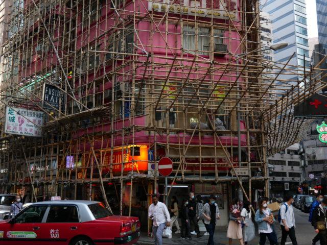 香港 建築足場