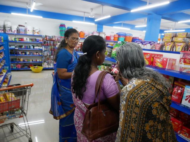 インドで買い物