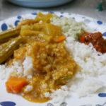 インドのお昼ご飯
