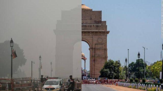 環境改善されたインド門