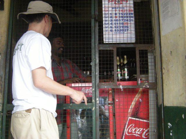インド サンカランコービルの酒屋