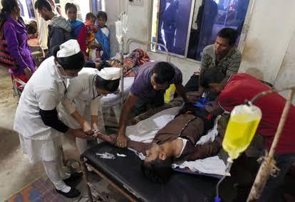 インド メチルアルコール死亡事故