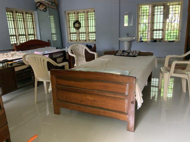 インドの部屋