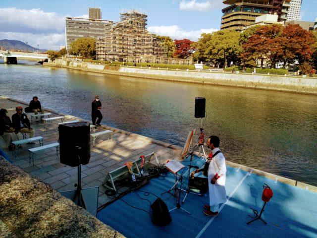 風呂哲州 水辺のコンサート