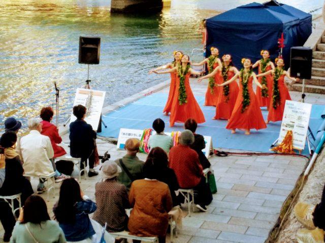 フラダンス 水辺のコンサート