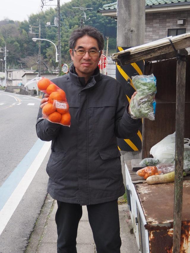 江田島の無人野菜販売所