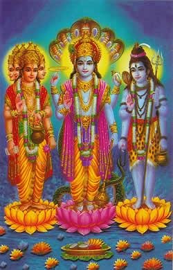 ヒンドゥー教の三大神