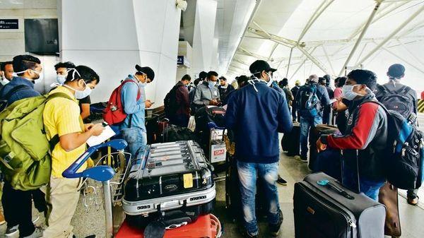 インドの飛行場