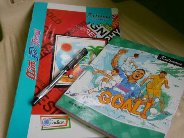 インドのノート