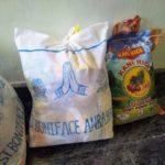 食糧支援物資