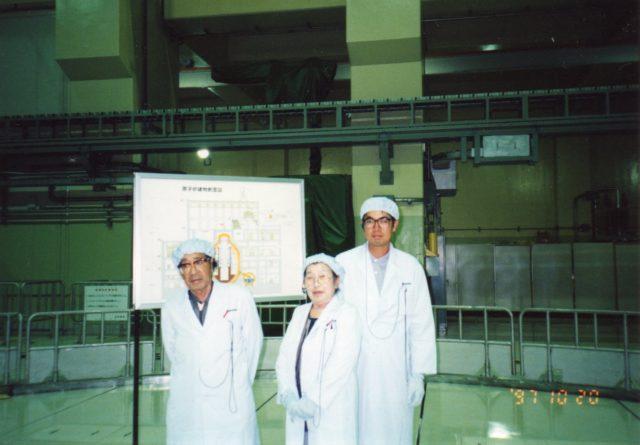 三上晃先生と島根原子力発電所で