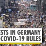 YouTube Thousands protest in Germany against COVID-19 restrictions