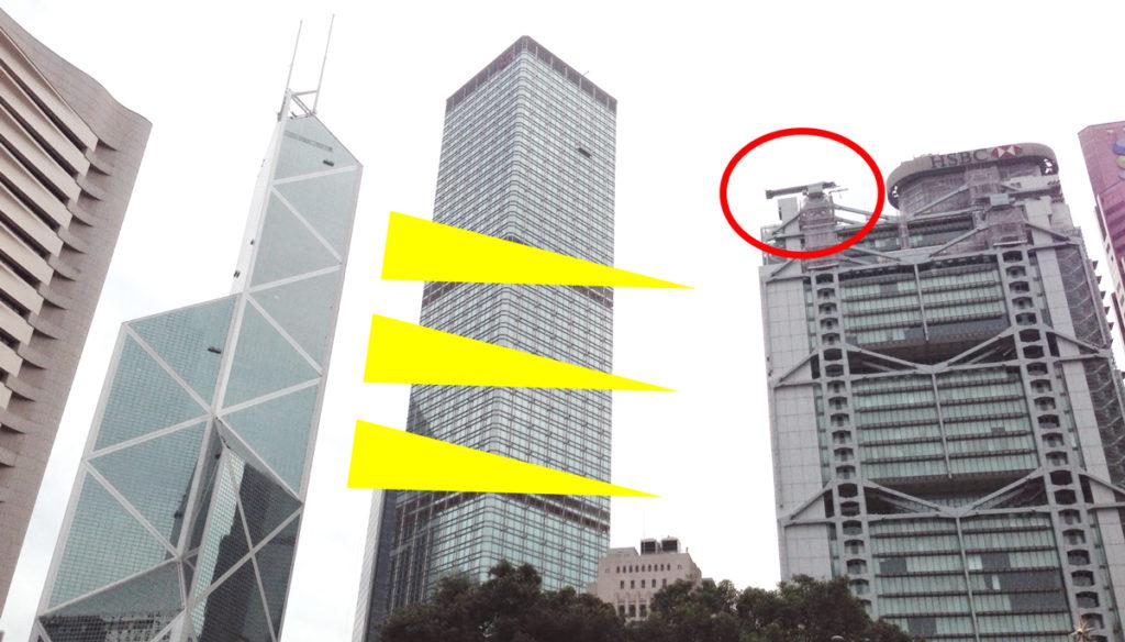 香港 風水戦争